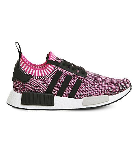 4afaa557e034 Adidas Originals Adidas Women. ADIDAS ORIGINALS. Adidas Women s Nmd Xr1  Primeknit Casual Sneakers From Finish Line in Shock Pink Black White