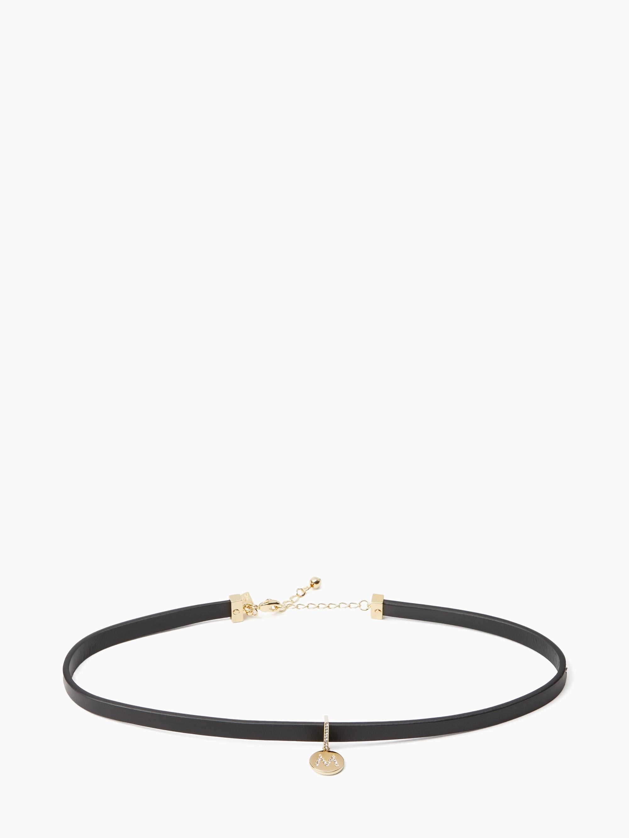 Kate Spade One In A Million Initial Choker