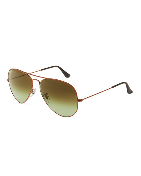 23e7360d276 Ray Ban Ray-Ban Aviator Ii Large Bronze Pilot Sunglasses - Rb3026 In Green