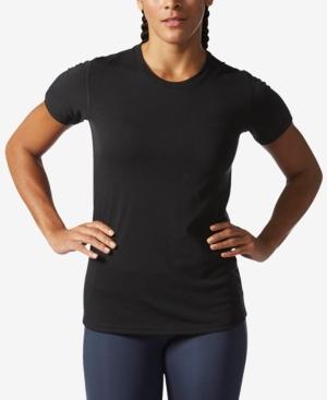 Adidas Originals Adidas Ultimate Climalite T-Shirt In Black
