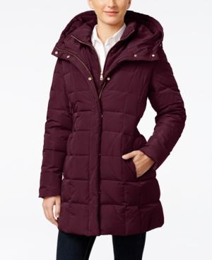 6ac7bfb44c3 Cole Haan Signature Plus Size Layered Down Puffer Coat Women Women s  Clothing - Coats