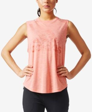 Adidas Originals Adidas Winners Sleeveless T-Shirt-Pink In Icey Pink