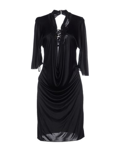 Roberto Cavalli Knee-length Dresses In Black