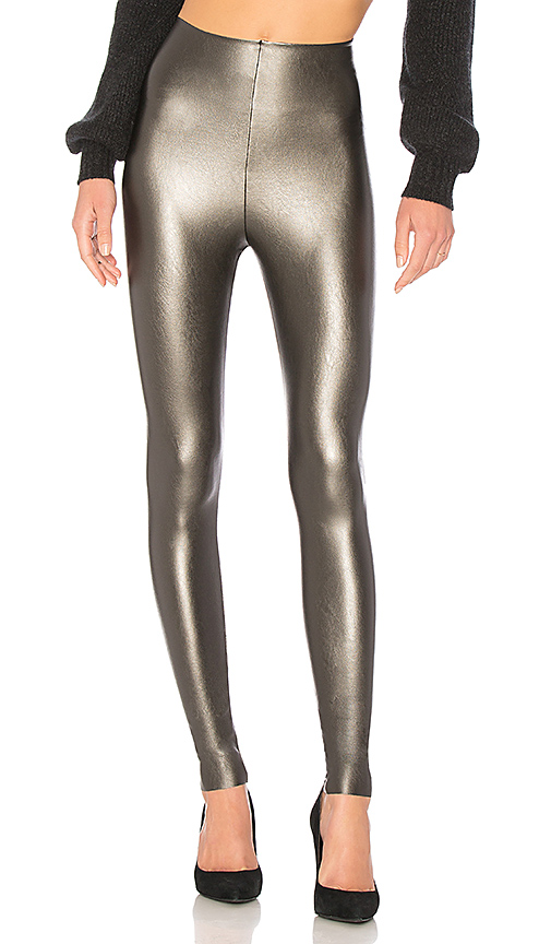 9db4d1e4fd3 Perfect Control Faux Leather Leggings in Gray
