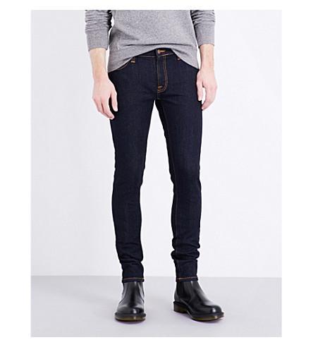 42910d6e Nudie Jeans Skinny Lin Slim-Fit Skinny Jeans In Dry Deep Orange ...
