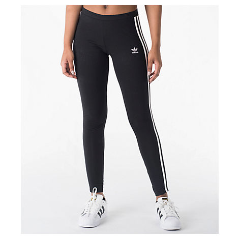 ca566b858be9 Adidas Originals Women's Originals 3-Stripes Leggings, Black In ...