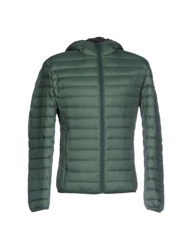 Schott Down Jacket In Green