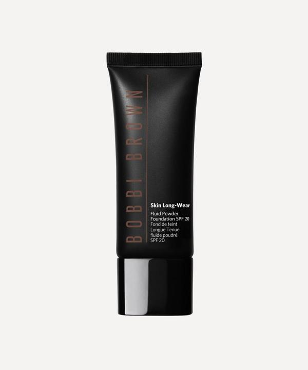 Bobbi Brown Skin Long-wear Fluid Powder Foundation Spf 20 In Espresso