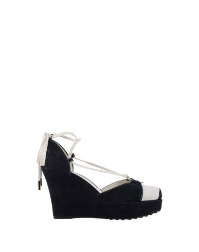 Tod's Sandals In Ivory
