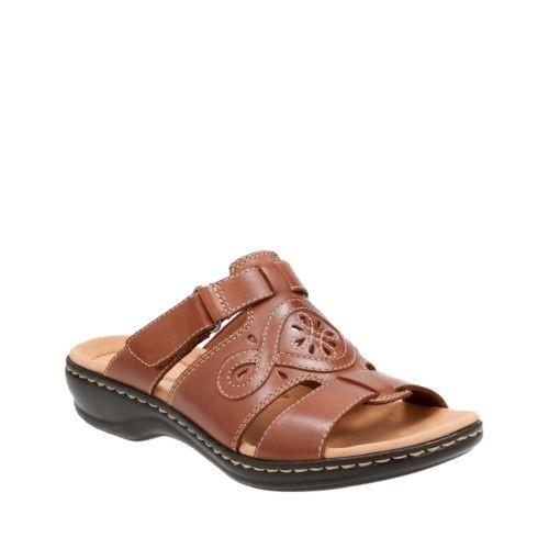 a3789206c490 Clarks Leisa Higley In Tan Leather