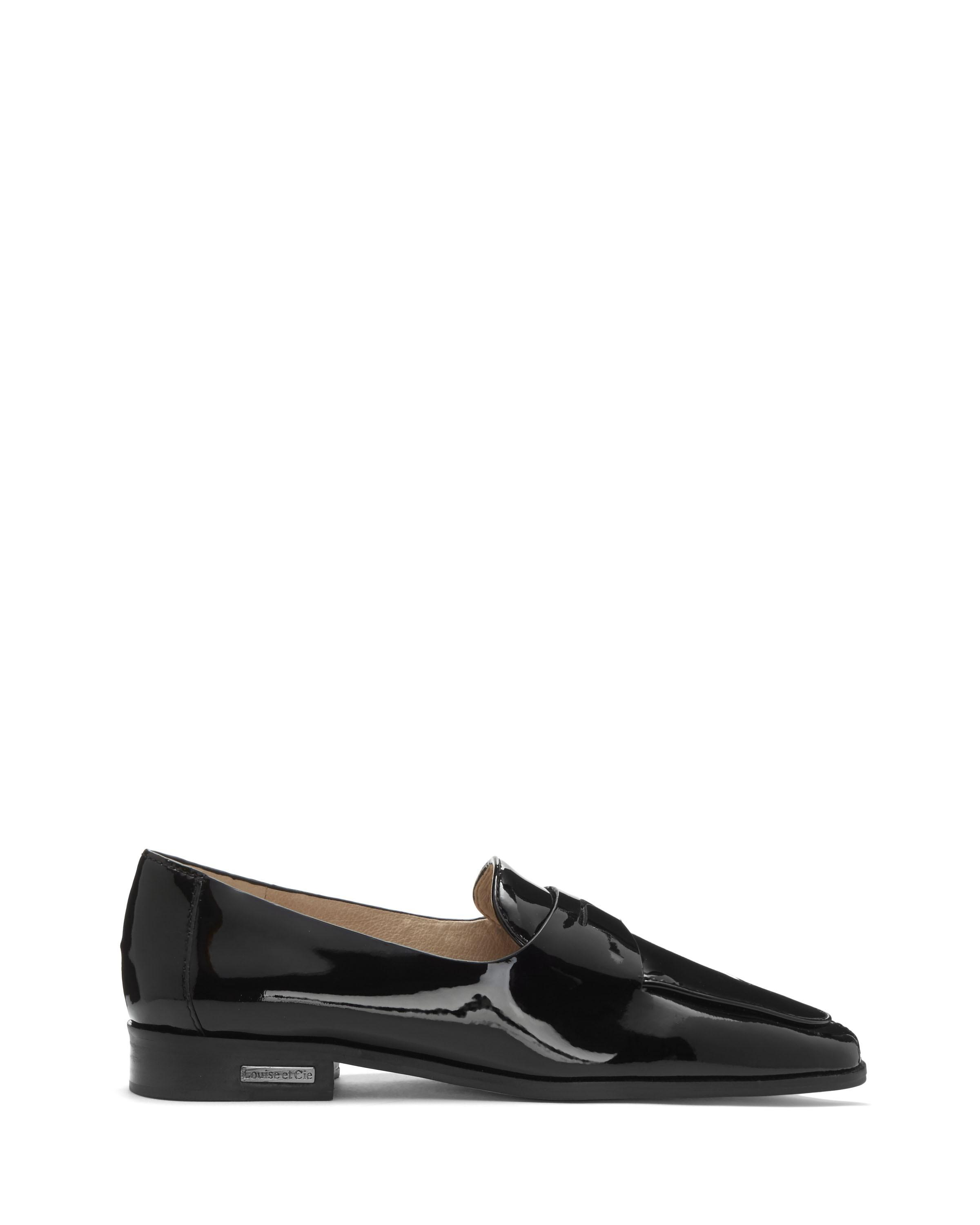 dc8f3992a74 Vince Camuto Louise Et Cie Zanie – Penny Loafer In Black Soft Cow Patent