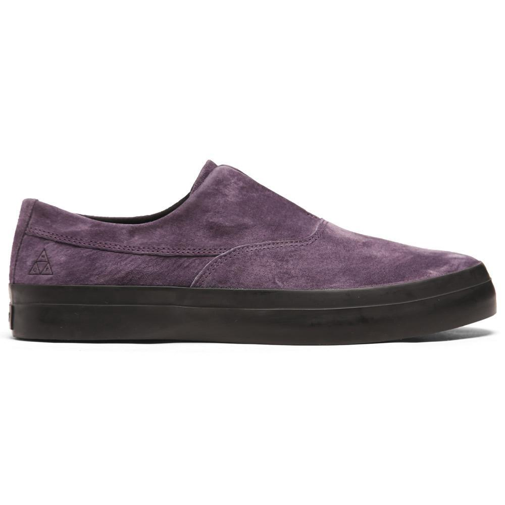 Huf Dylan Slip-on Shoe In Charcoal