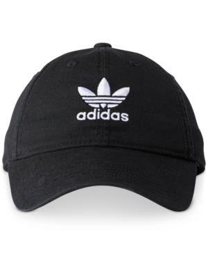 3b1ffcac6784b Adidas Originals Women s Originals Precurved Washed Strapback Hat ...