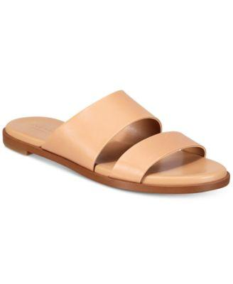 d734b713800 Cole Haan Anica Grand Crisscross Flat Slide Sandal In White