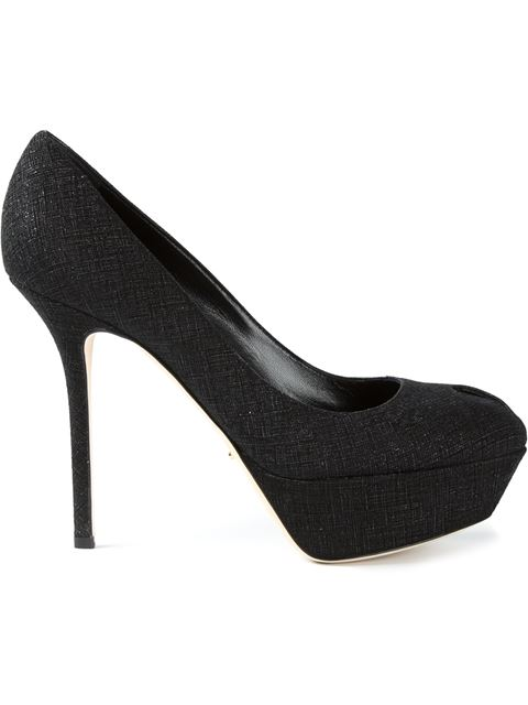 Sergio Rossi Platform Stiletto Pumps In Black