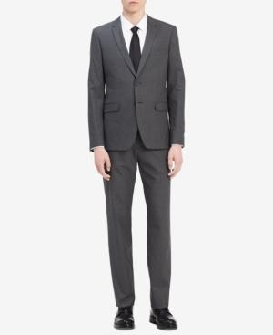 Calvin Klein Men's Infinite Slim-Fit Suit Jacket In Cinder Block