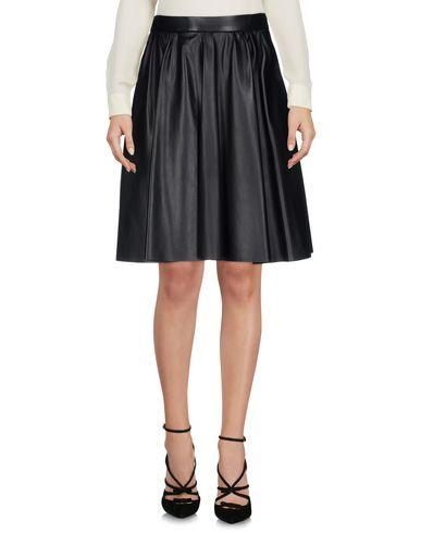 Miu Miu Knee Length Skirts In Black