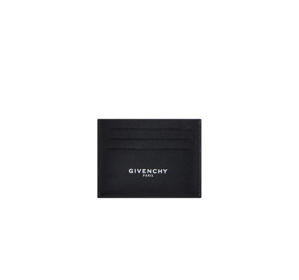 Givenchy Logo Cardholder In Black