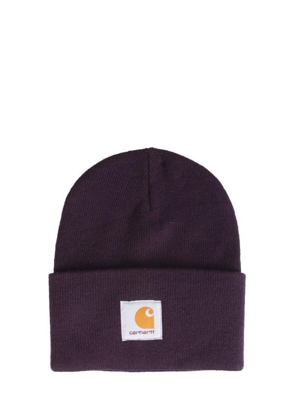 Carhartt Acrylic Watch Hat In Purple