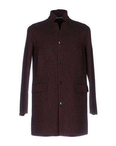 Valentino Coats In Deep Purple