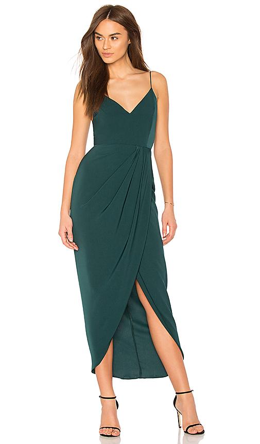 cf84f5ffa00 Shona Joy Cocktail Draped Dress In Seaweed