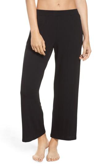 Skin Yara Crop Pants In Black