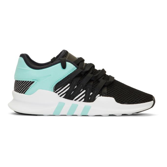Adidas Originals Black & Blue Eqt Racing Adv Sneakers