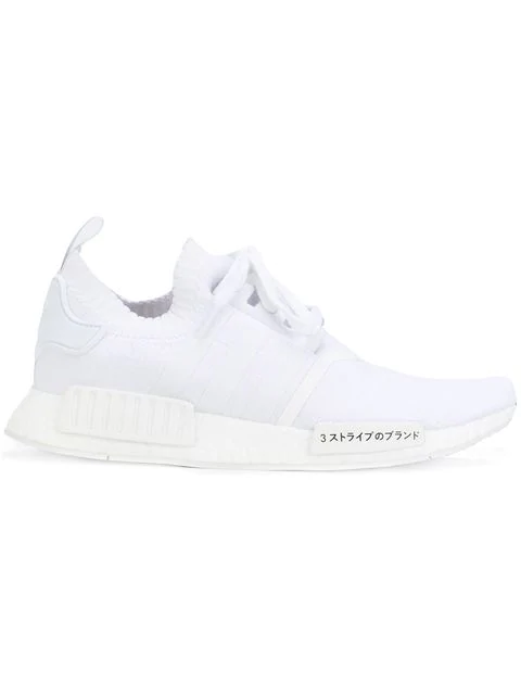 adidas NMD_R1 Primeknit (White)