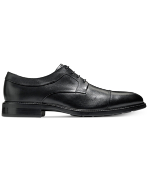 Cole Haan Men's Hartfield Apron-toe Oxfords Men's Shoes In Black