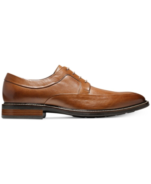 Cole Haan Men's Hartfield Apron-Toe Oxfords Men's Shoes In British Tan
