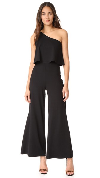 Susana Monaco Ilana Jumpsuit In Black