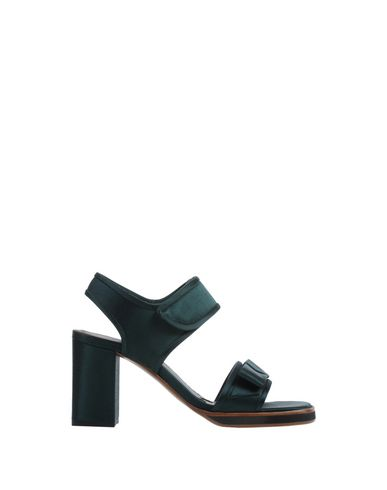 Marni Sandals In Emerald Green