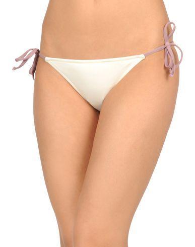 Solid & Striped Bikini In Ivory