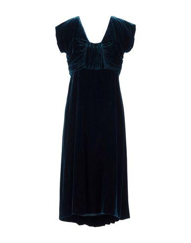 Alberta Ferretti Knee-length Dresses In Dark Green