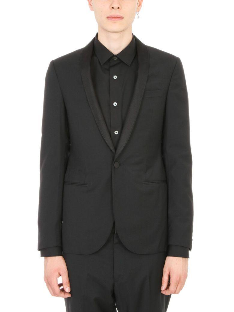 Lanvin Black Wool And Silk Blazer