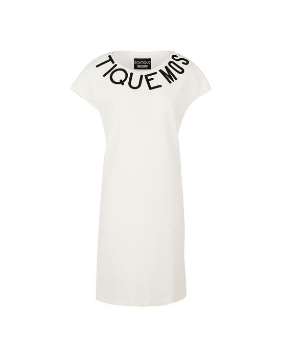 Boutique Moschino Short Dresses In White