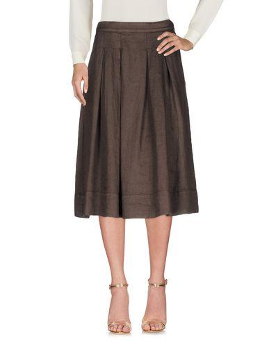 Ottod'ame 3/4 Length Skirts In Dark Brown