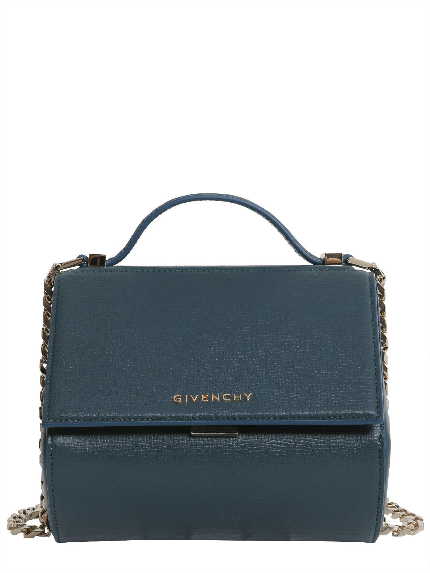 Givenchy Mini Pandora Box Bag In Verde
