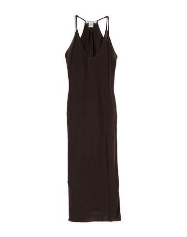 Ottod'ame Long Dress In Dark Brown