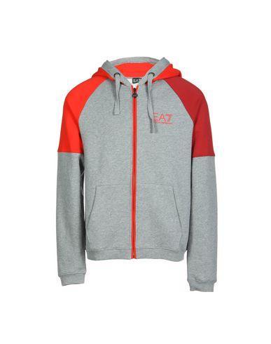 Ea7 Sweatshirts In Grey