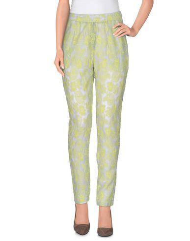 Ottod'ame Casual Pants In Acid Green