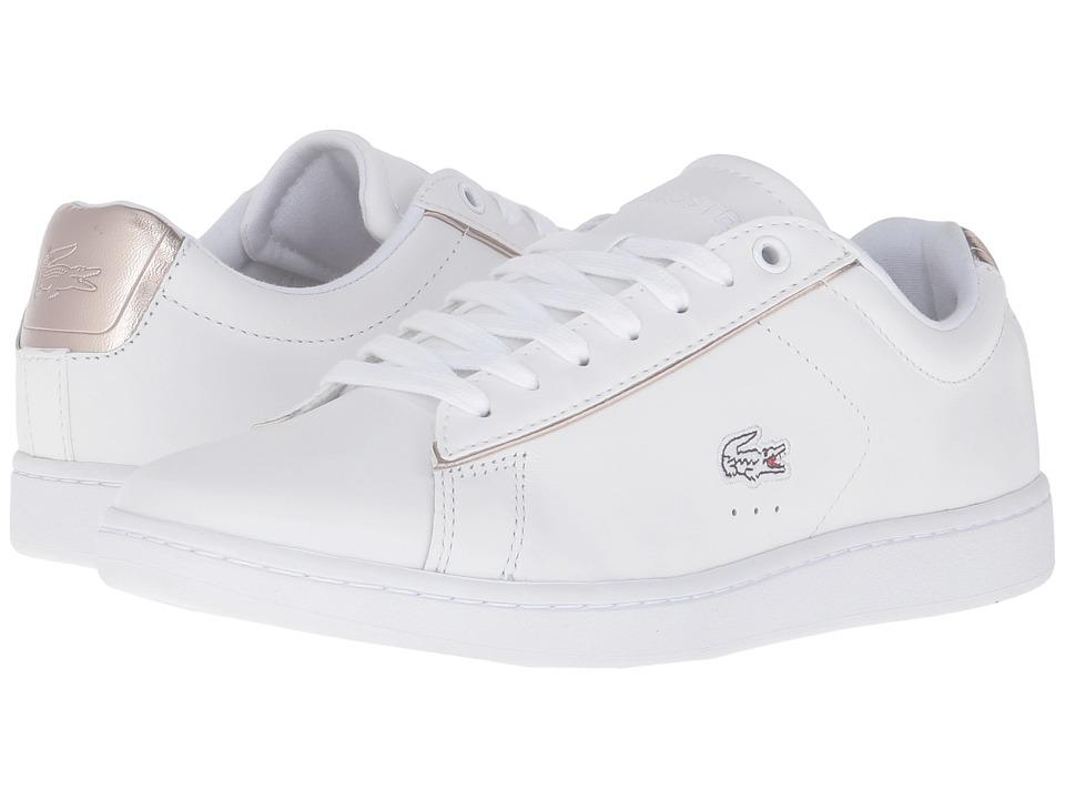 70604fc9f705 Lacoste - Carnaby Evo 316 1 (White) Women s Shoes