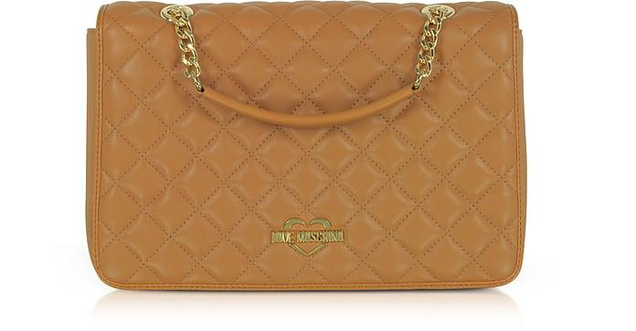 Love Moschino Fashion Quilted Eco-leather Shoulder Bag