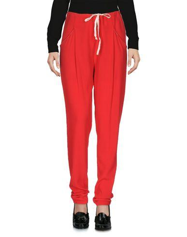 Ottod'ame Casual Pants In Red