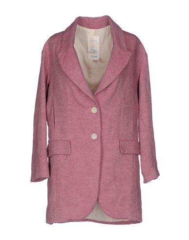 Ottod'ame Full-length Jacket In Mauve