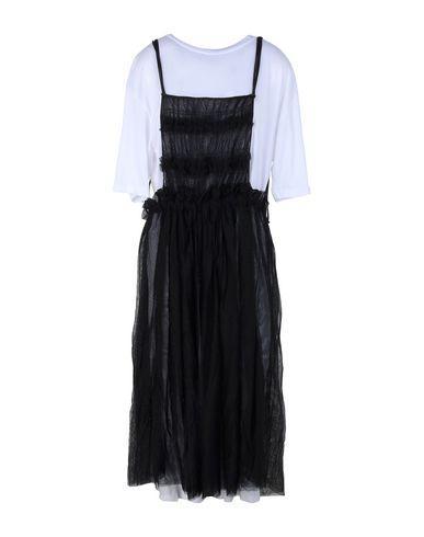 Ottod'ame 3/4 Length Dresses In Black