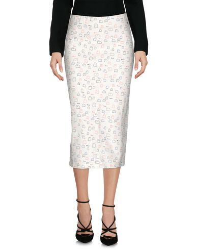 Ottod'ame 3/4 Length Skirts In Ivory