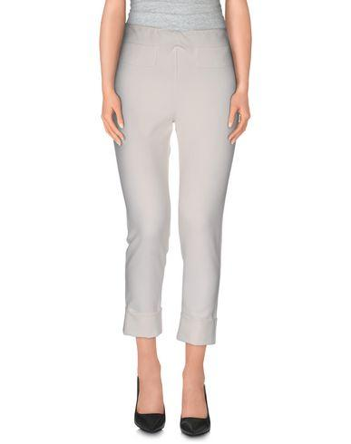 Ottod'ame Cropped Pants & Culottes In White