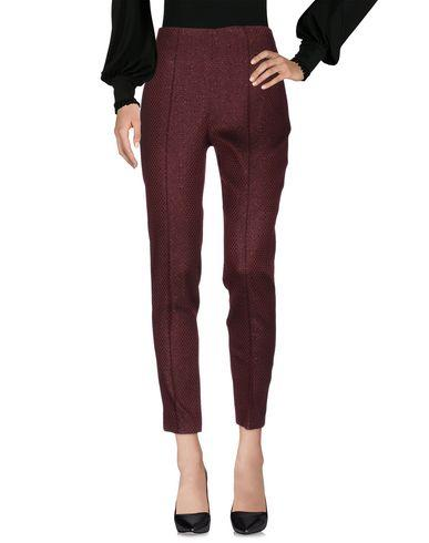 Ottod'ame Casual Pants In Maroon