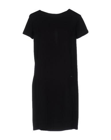 Ottod'ame Short Dress In Black